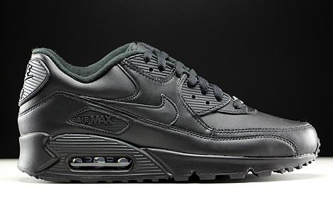 Nike Air Max 90 Leather Black Purchaze