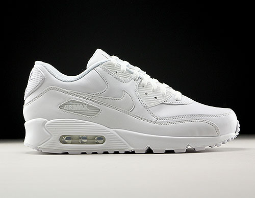 Nike Air Max 90 Leather White 302519-113 - Purchaze