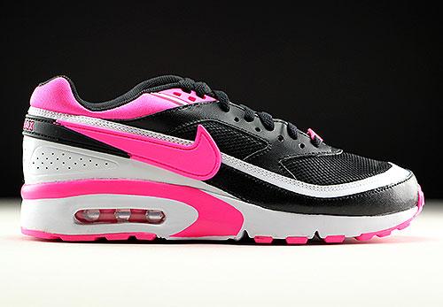 Nike Air Max BW GS Black Pink Blast White 834224-006 - Purchaze