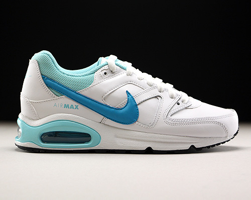 Nike Air Max Command Leather GS White Blue Lagoon Copa