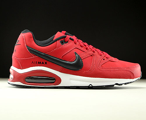 617743913a Nike Air Max Command Leather Gym Red Black White - Purchaze
