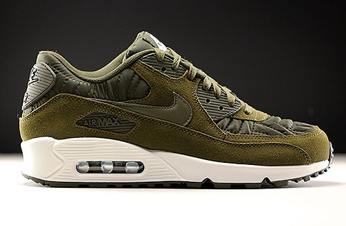 cheaper 27dff 8d139 Nike WMNS Air Max 90 Premium Dark Loden Ivory