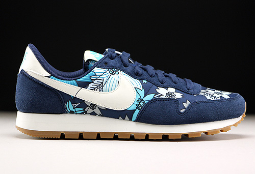 b05a03f2740e0 Nike WMNS Air Pegasus 83 Print Midnight Navy Sail Tide Pool Blue ...