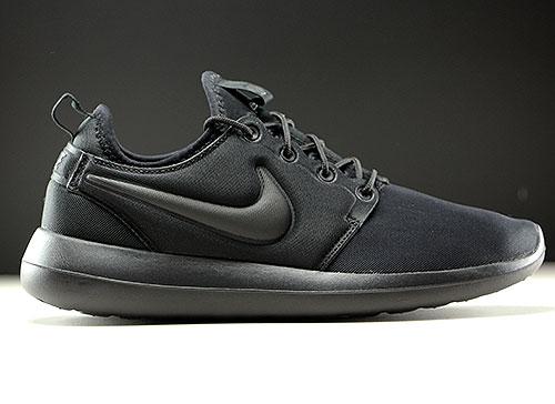 online store 6af02 6e9c5 Nike WMNS Roshe Two Black Black