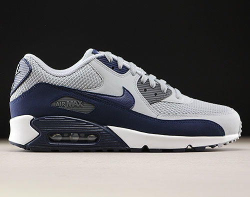 huge selection of d2d40 fe5e0 Nike Air Max 90 Essential Wolf Grey Binary Blue 537384-064