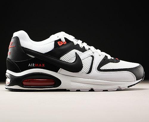 Nike Air Max Command White Black Max Orange 629993-103