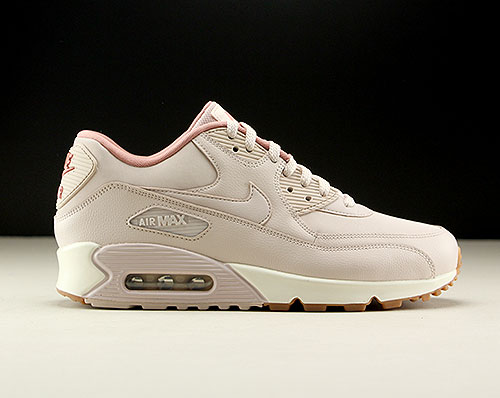 Nike WMNS Air Max 90 Leather Silt Red Silt Red Red Stardust 921304-600
