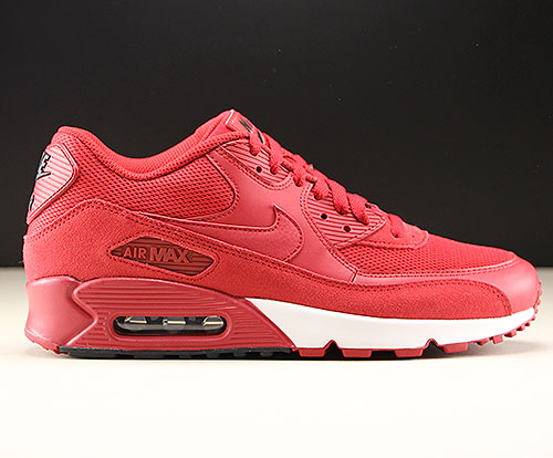 competitive price 55742 d1a38 Nike Air Max 90 Essential Gym Red Black White