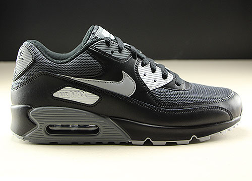 e75e8fbed8 Nike Air Max 90 Essential Black Wolf Grey Dark Grey AJ1285-003