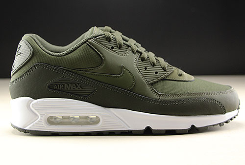 73824927b8 Nike Air Max 90 Essential Sequoia Cargo Khaki White 537384-310