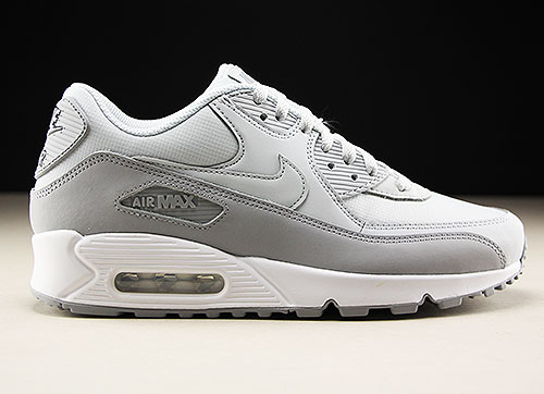 newest 6acbf a6125 Nike Air Max 90 Essential Wolf Grey Pure Platinum White 537384-088