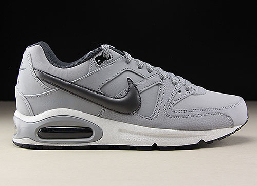 Nuclear Por separado polilla  Nike Air Max Command Leather Wolf Grey Metallic Dark Grey Black - Purchaze