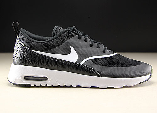 4c0e9ed3cec52 Nike WMNS Air Max Thea Black White - Purchaze