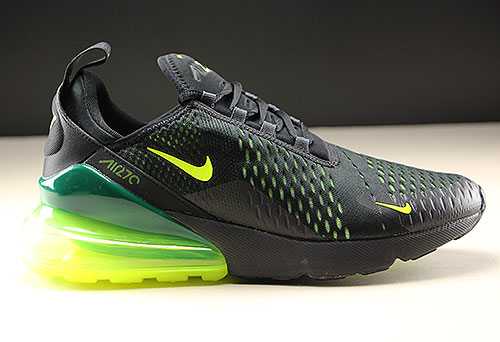 Nike Air Max 270 Black Volt Black Oil Grey Purchaze