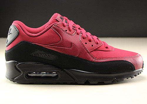 Nike Air Max 90 Essential Black Red Crush AJ1285-010