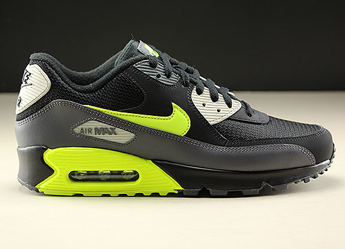 new product 447d1 d95e7 Nike Air Max 90 Essential Dark Grey Volt Black AJ1285-015