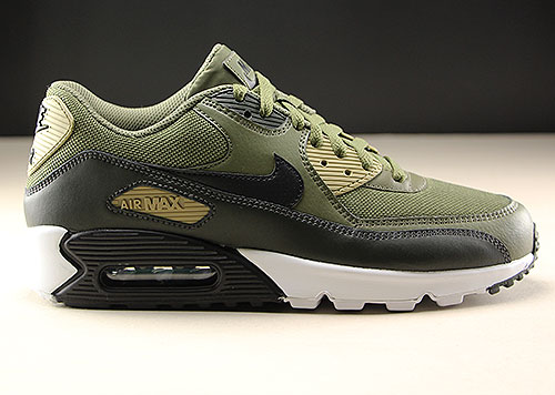 Nike Air Max 90 Essential Medium Olive Black Sequoia AJ1285-201