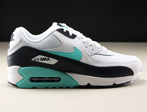 Nike Air Max 90 Essential White Aurora Green Obsidian Purchaze