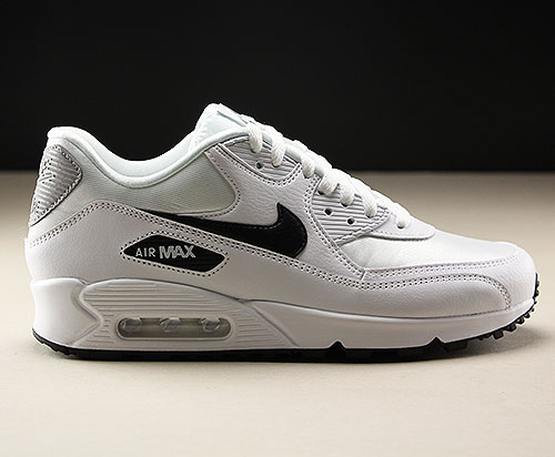 54c15ad264f05 Nike WMNS Air Max 90 White Black Reflect Silver 325213-137