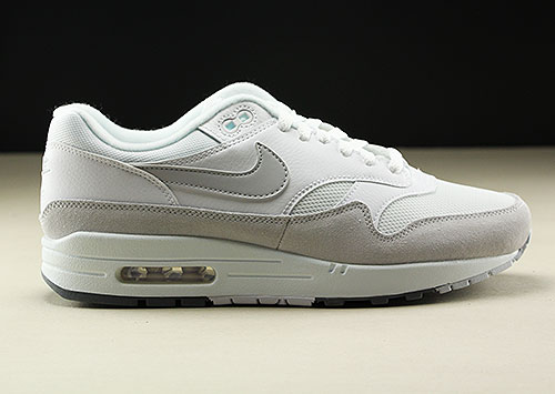 Nike Air Max 1 White Pure Platinum Cool Grey AH8145-110