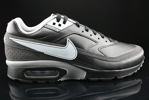 Nike Air Classic BW Black Silver Cool Grey Dark Charcoal Sneakers 309210-049