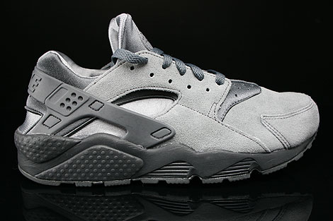 Nike Air Huarache Cool Grey Dark Grey Anthracite Sneakers 318429-082