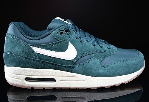 Nike Air Max 1 Essential Pro Green Sail Black Sneakers 537383-311