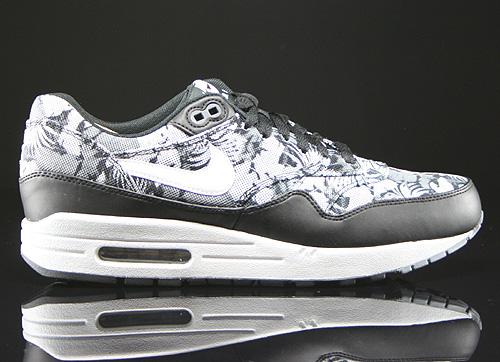 Nike Air Max 1 GPX Black White Dark Grey Sneakers 684174-001