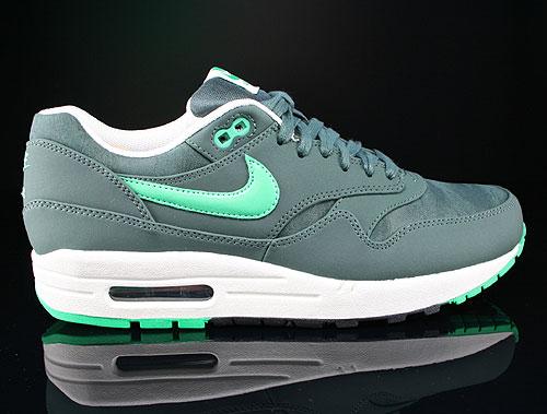 Nike Air Max 1 Premium Vintage Green Gamma Green Black Sail Sneakers 512033-330
