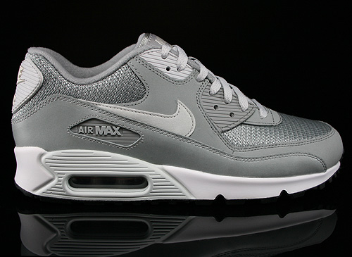 Nike Air Max 90 Essential Base Grey Light Base Grey Sail Sneakers 537384-028