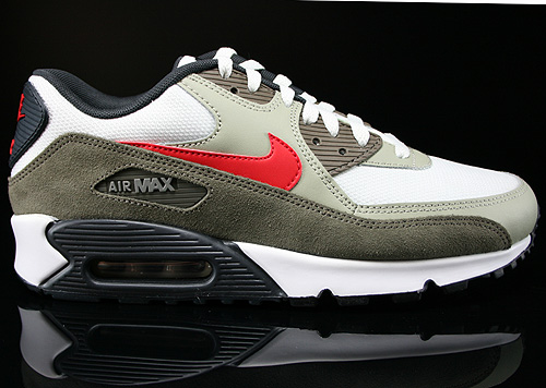 Oxidar cansada hardware  Nike Air Max 90 Essential Summit White University Red Beige Chalk  537384-119 - Purchaze