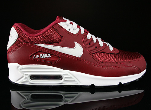 Nike Air Max 90 Essential Team Red Light Base Grey Sail Sneakers 537384-605