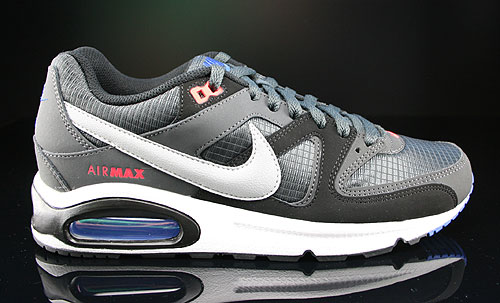 Nike Air Max Command Anthracite Silver Dark Grey Black Sneakers 397689-077