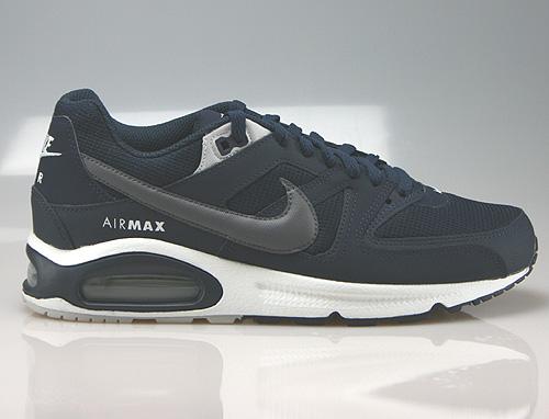 Nike Air Max Command Obsidian Dark Grey Pure Platinum Sneakers 629993-406