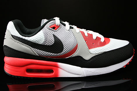 Nike Air Max Light C1.0 Cool Grey Black Light Crimson University Red Sneakers 631758-006