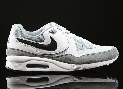 Nike Air Max Light Essential White Black Light Magnet Grey Sneakers 631722-110