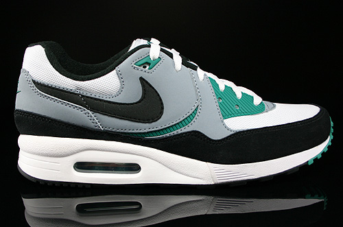 Nike Air Max Light Essential White Black Mystic Green Magnet Grey Sneakers 631722-103