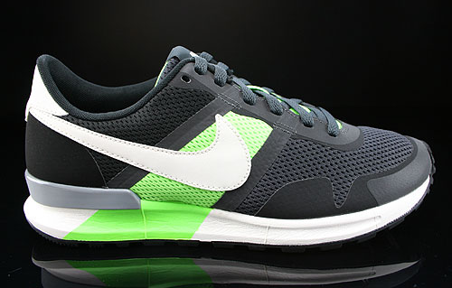 Nike Air Pegasus 83/30 Anthracite Sail Flash Lime Black Sneakers 599482-013