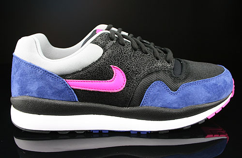 Nike Air Safari Black Pink Foil Deep Royal Blue Silver Sneakers 371740-064