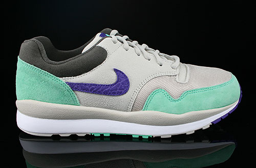 Nike Air Safari Mortar Electric Purple Green Glow Petra Brown Sneakers 371740-053