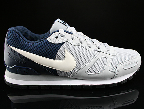 Nike Air Waffle Trainer Wolf Grey White Black Obsidian Sneakers 429628-025