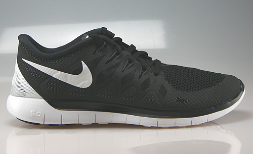 Nike Free 5.0 Black White Anthracite Sneakers 642198-001