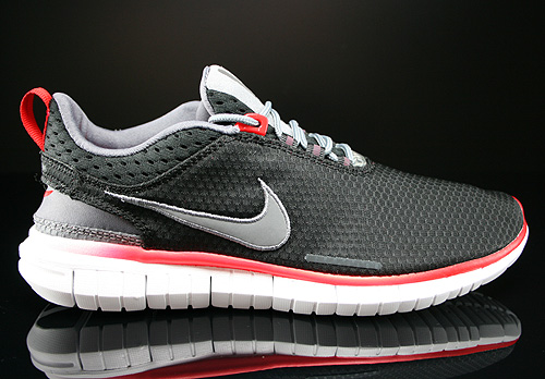 Nike Free OG 14 BR Black Cool Grey White Chilling Red Sneakers 644394-001