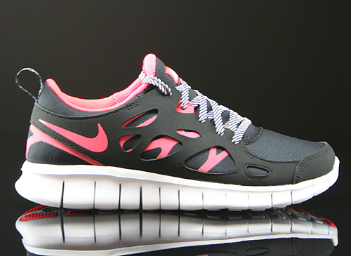 Nike Free Run 2 Black Varsity Maize White