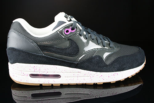 Nike WMNS Air Max 1 Anthracite Black Club Purple Sail Sneakers 319986-023