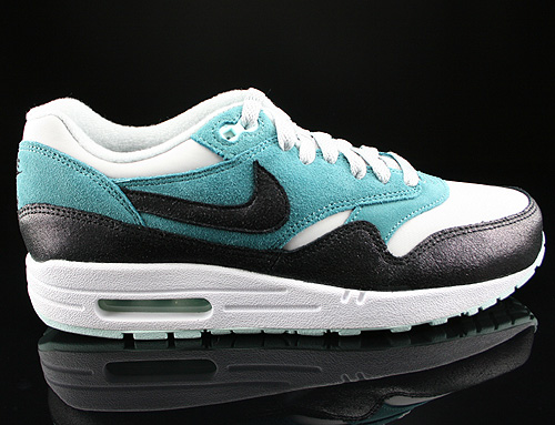 Nike WMNS Air Max 1 Essential Dusty Grey Black Mineral Teal Sneakers 599820-002