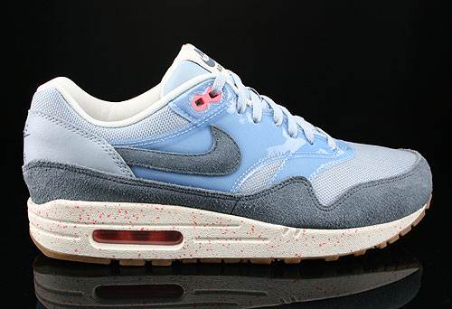 Nike WMNS Air Max 1 Armory Blue Armory Slate Atomic Pink Sneakers 319986-402