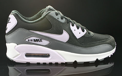 Nike WMNS Air Max 90 Black Violet Frost Anthracite Cool Grey ...
