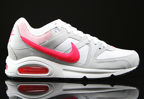 Nike WMNS Air Max Command White Hyper Punch Light Ash Grey Sneakers 397690-169