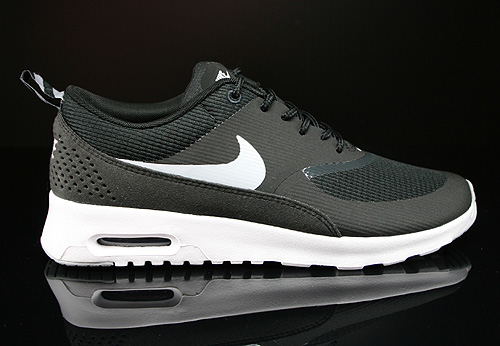 Nike WMNS Air Max Thea Black Wolf Grey Anthracite White Sneakers 599409-007